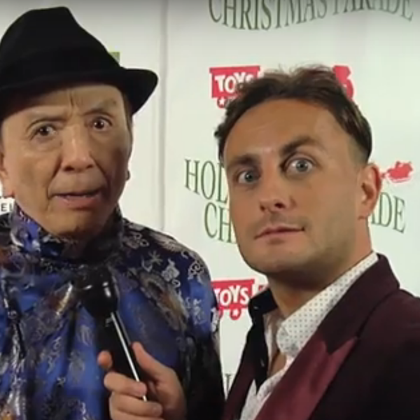 Interviewing Hollywood legend James Hong