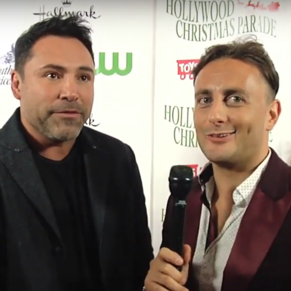 Interview with Oscar De La Hoya