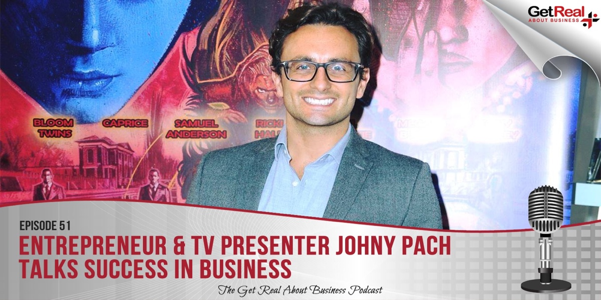 Entrepreneur & TV Presenter Johny Pach Talks Success in Business